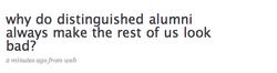 Alumni tweet add