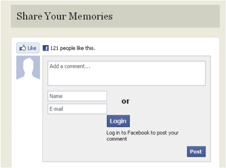 Generic FB social info