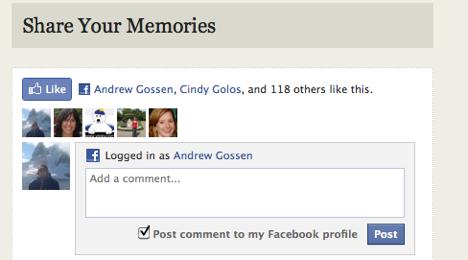 AF Share memories FB