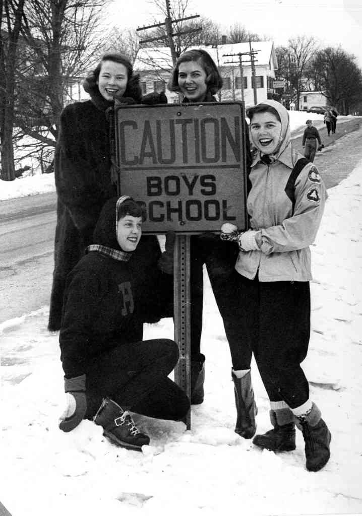 Caution Boys School