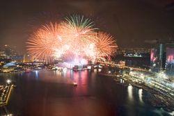 Spore fireworks