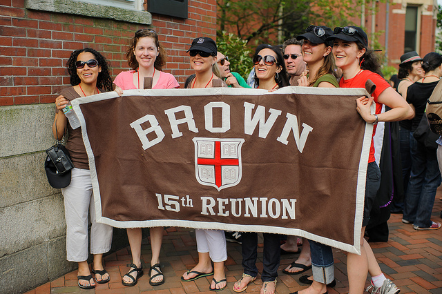 Brown reunion